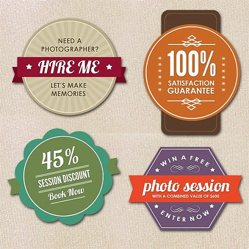 Photographer Badges I  1