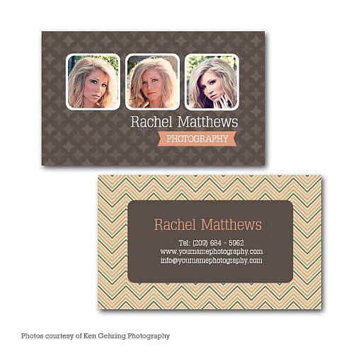 Rachel Business Card Template 1