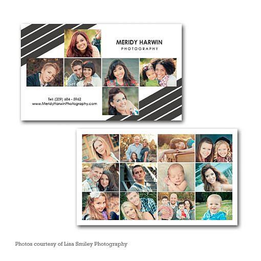Meridy Harwin Business Card Template 1