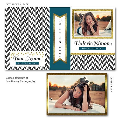 Glitter Point Image Box Template  1
