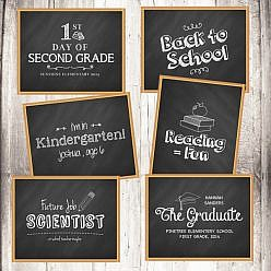 Chalkboard Signs Set - School