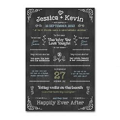 Wedding Chalkboard Template