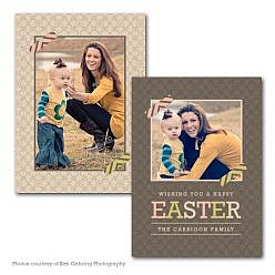 Easter Hops Easter Card