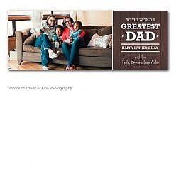 Greatest Dad Facebook Timeline Cover