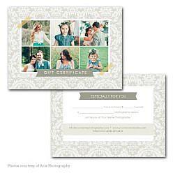 Plumik Gift Certificate Template