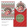 Cozy Christmas Luxe Pop Card