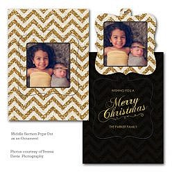 Shine Bright Luxe Pop Card