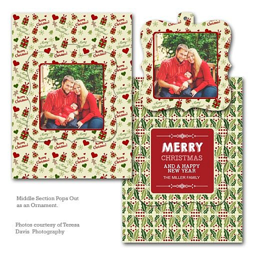 Festive Joy Luxe Pop Card  1