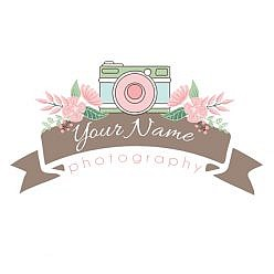 Shutter Bloom Logo Template