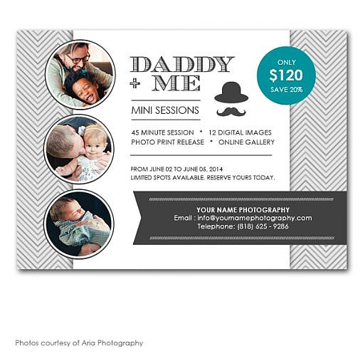 Daddy & Me Marketing Board 1