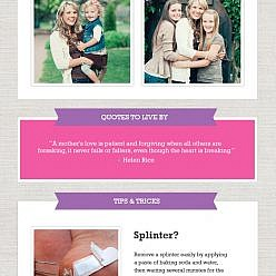 May 2014 Newsletter Template