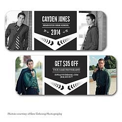 Cayden Jones Rep Mini Card