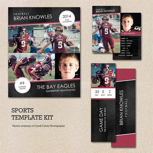 The Ultimate Sports Template Kit  1
