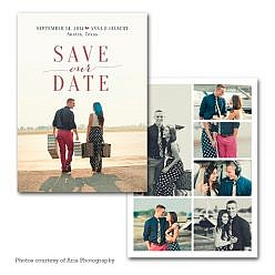 Sky Joy Save The Date Card