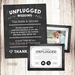 Unplugged Wedding Kit