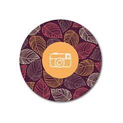 The Camera Sticker Template