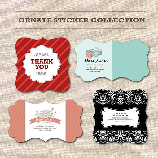 Ornate Sticker Collection  1