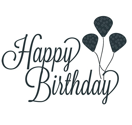 Happy Birthday Word Art |