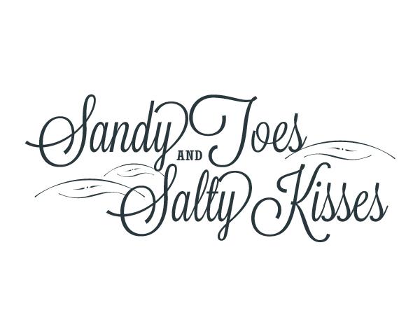 Sandy Toes Word Art |