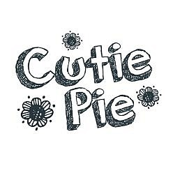 Cutie Pie Word Art