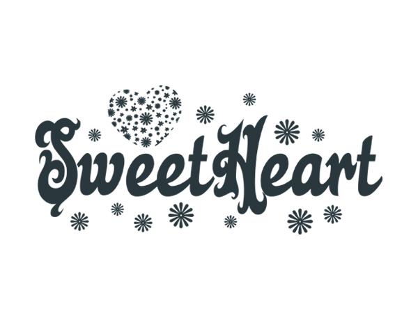 Sweet Heart Word Art 1 9767c80d0