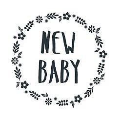 New Baby Word Art