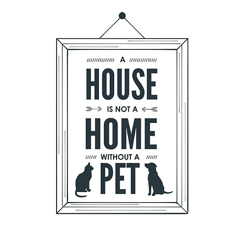 House Home Word Art 1