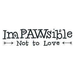 Impawsible Word Art