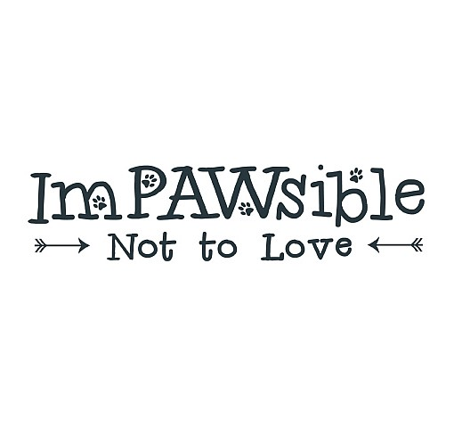Impawsible Word Art 1
