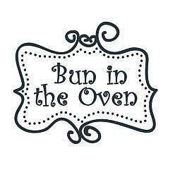 Bun In Oven Word Art