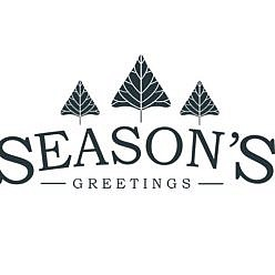 Season's Greetings Word Art