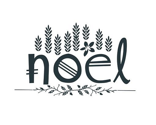 Noel Word Art 1