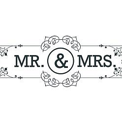 Mr. and Mrs. Word Art