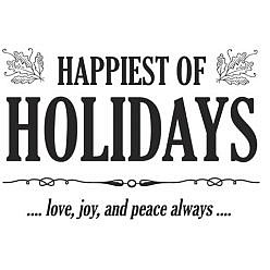 Holiday Word Art 6