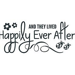 Happily Ever After Word Art