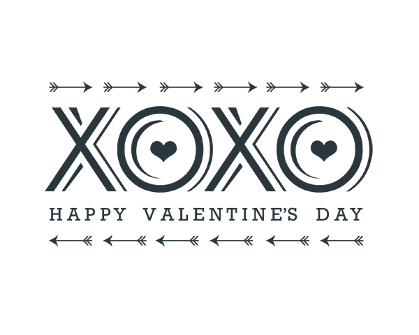 Xoxo Valentine S Day Word Art