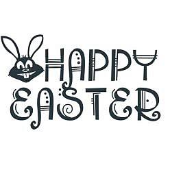 Happy Easter 1 Word Art