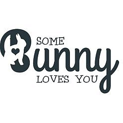 Some Bunny Love You Word Art