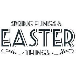 Easter Things Word Art