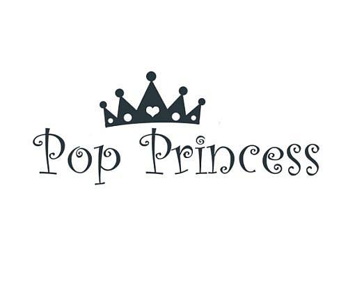 Pop Princess Word Art 1