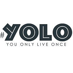YOLO You Only Live Once Word Art