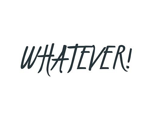 Whatever! Word Art 1