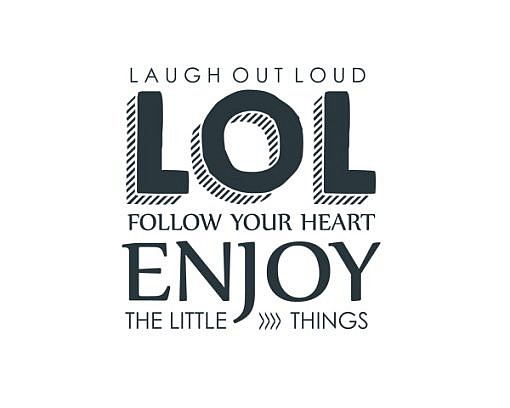 Laugh Out Loud Word Art 1