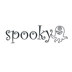 Spooky Word Art
