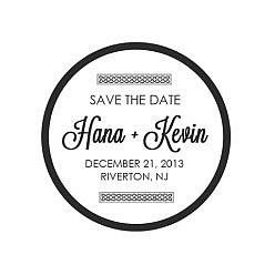 Hana Save The Date Word Art