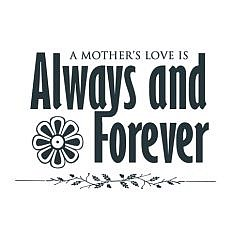 Mother's Love Word Art