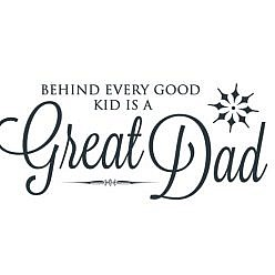 Great Dad Word Art