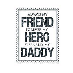 Always Daddy Word Art
