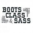 Boots Sass Word Art