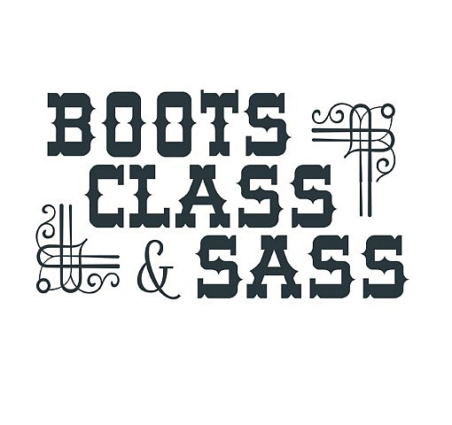 Boots Sass Word Art 1